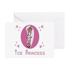 SkateChick Ice Princess Greeting Cards (Package of