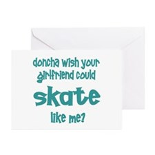 SkateChick Doncha Greeting Cards (Pk of 10)