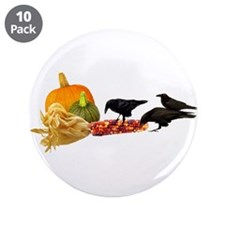 "Crows Harvest 3.5"" Button (10 pack)"