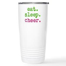 eat.sleep.cheer. Travel Mug