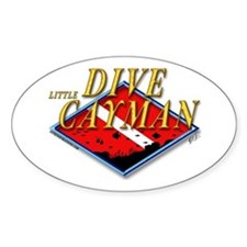 Dive Little Cayman Oval Decal