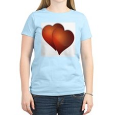 DOUBLE LOVE RED HEARTS T-Shirt