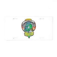 Abduction Survivor Aluminum License Plate