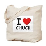 I love Chuck Tote Bag
