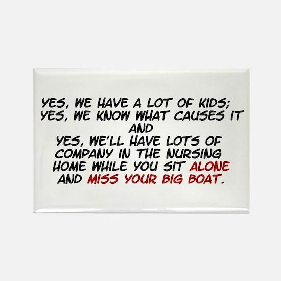 big boat II Magnets