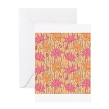 Lotus Positions Greeting Card