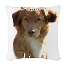NovaMom.png Woven Throw Pillow