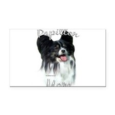 PapillonMom.png Rectangle Car Magnet