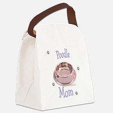 PoodleMom.png Canvas Lunch Bag