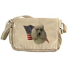 PoodlewhiteFlag.png Messenger Bag