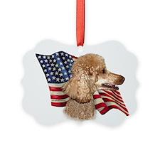 PoodleFlag.png Ornament