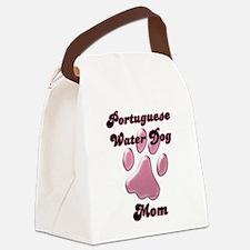 PortugueseMomblkpnk.png Canvas Lunch Bag