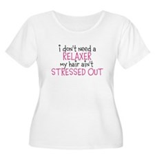 No Relaxer Plus Size T-Shirt