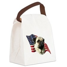 PugFlag.png Canvas Lunch Bag