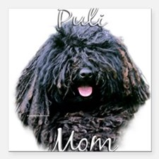 """PuliMom.png Square Car Magnet 3"""" x 3"""""""