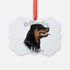 Rottie Mom Ornament