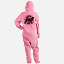 RottiePatriot.png Footed Pajamas