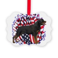 RottiePatriot.png Ornament