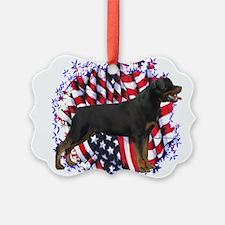 RottiePatriot.png Ornament