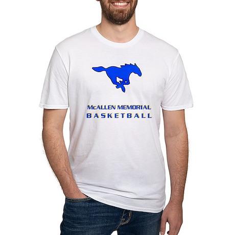 McAllen Memorial Basketball Fitted T-Shirt