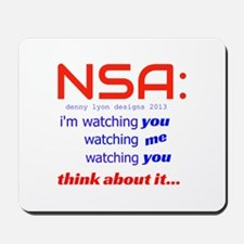 NSA Watching Mousepad