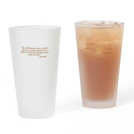 Mix Quote Drinking Glass