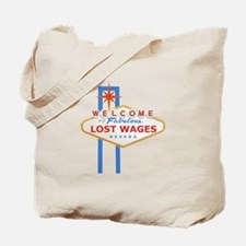 Lost Wages Nevada Tote Bag