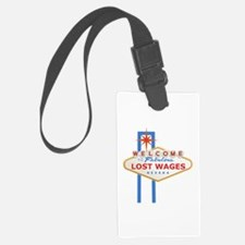 Lost Wages Nevada Luggage Tag