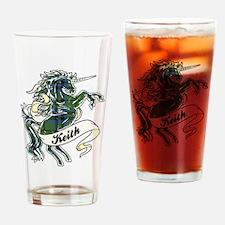 Keith Unicorn Drinking Glass