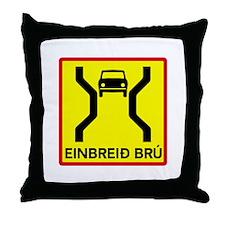 Single-Width Bridge - Iceland Throw Pillow