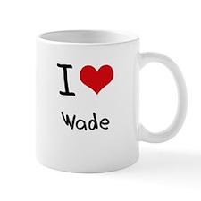 I love Wade Small Small Mug