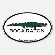 Boca Raton - Alligator Design. Decal