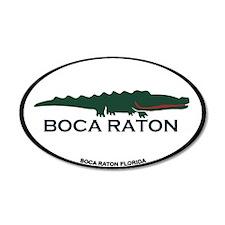 Boca Raton - Alligator Design. Wall Decal