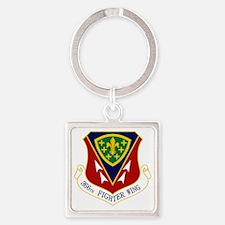 366th FW Square Keychain