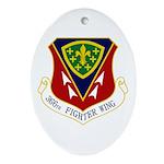 366th FW Ornament (Oval)