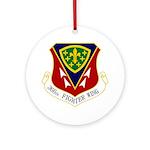 366th FW Ornament (Round)