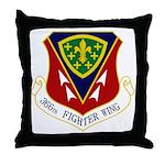 366th FW Throw Pillow
