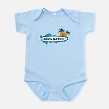 Boca Raton - Surf Design. Infant Bodysuit