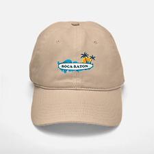 Boca Raton - Surf Design. Baseball Baseball Cap