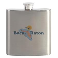 Boca Raton - Map Design. Flask
