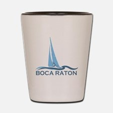 Boca Raton - Sailing Design. Shot Glass