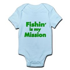 FISHIN IS MY MISSION Body Suit
