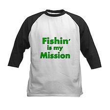 FISHIN IS MY MISSION Baseball Jersey