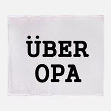 UBER OPA Throw Blanket