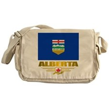 Alberta Flag Messenger Bag