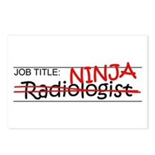 Job Ninja Radiologist Postcards (Package of 8)