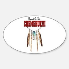 Proud to be Chemehuevi Sticker (Oval)