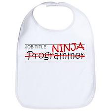 Job Ninja Programmer Bib