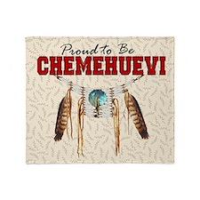 Proud to be Chemehuevi Throw Blanket