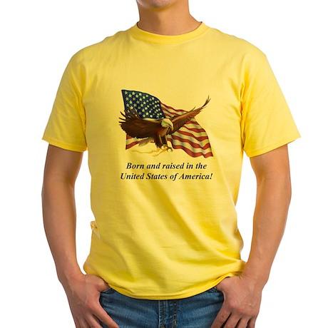 Born Raised In USA! Eagle T-Shirt